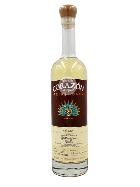 Corazon Expressions W L Weller Barrel  15 Months Anejo Tequila