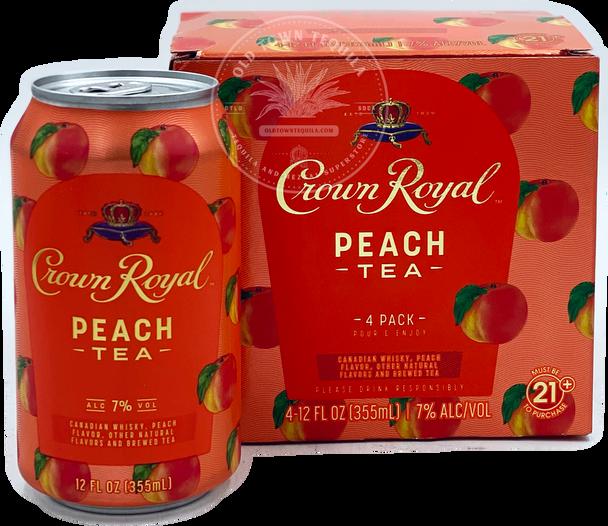 Crown Royal Peach Tea Whisky 4 Pack