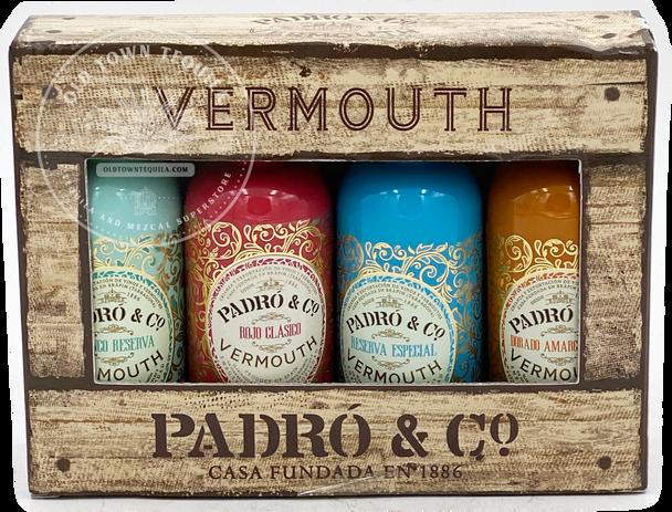 Vermouth Padró & Co. Variety Pack 4x50ml