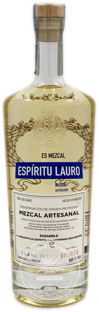 Espiritu Lauro Mezcal Reposado 750ml