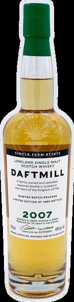 Daftmill 2007 Winter Batch Lowland Single Malt Scotch Whisky
