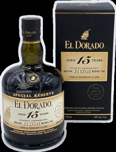 El Dorado Finest Demerara Rum Aged 15 Years 750ml