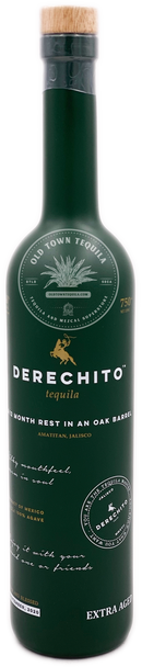 Derechito Extra Aged Tequila 750ml