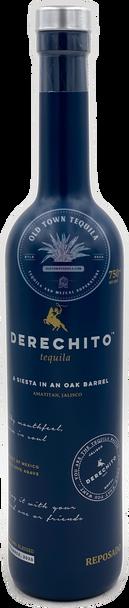 Derechito Tequila Reposado 750ml