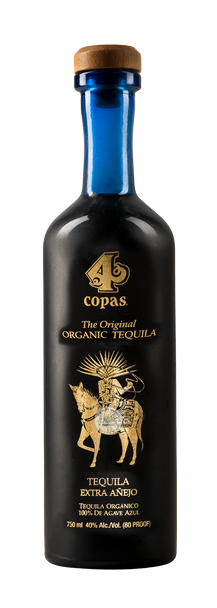 4 Copas Extra Anejo Organic Tahona Tequila