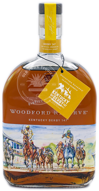 Woodford Reserve Kentucky Derby 147 Straight Bourbon Whiskey 1L