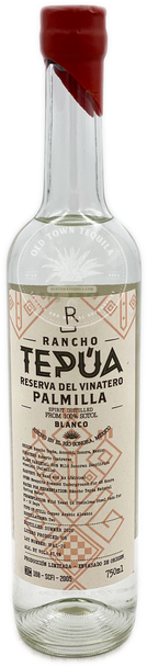 Rancho Tepua Reserva Del Vinatero Palmilla Sotol Blanco 750ml