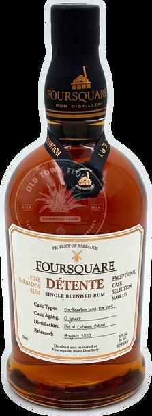 Foursquare Détente Single Blended Rum 750ml