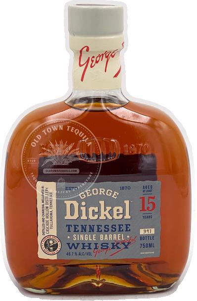 George Dickel Tennessee Single Barrel Whiskey Aged 15 Years 750ml