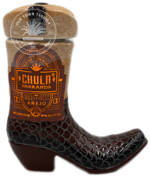 Chula Parranda Ceramic Boot Tequila Anejo 375ml