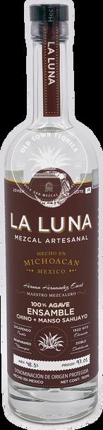 La Luna Mezcal Ensamble Chino + Manso Sahuayo 750ml