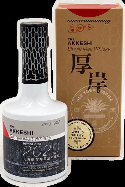 The Akkeshi Sarorunkamuy Single Malt Whisky 2020 200ml