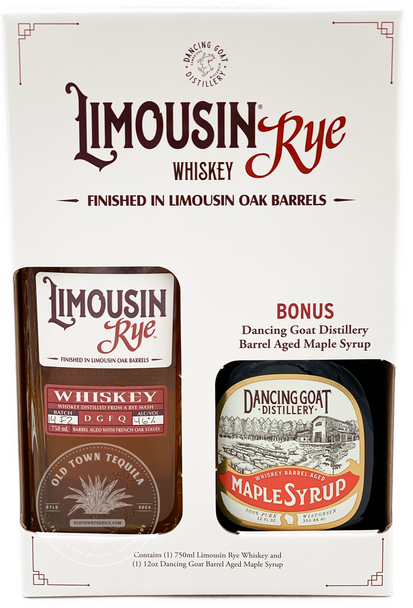 Limousin Rye Whiskey Gift Set
