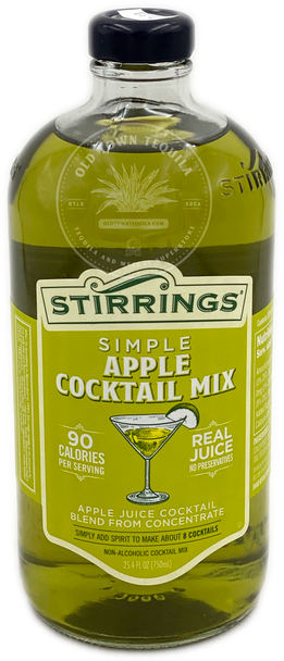 Stirrings Simple Apple Cocktail Mix 750ml