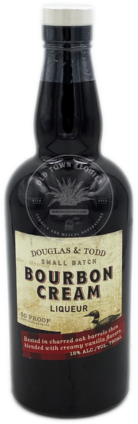 Douglas & Todd Small Batch Bourbon Cream Liqueur 750ml