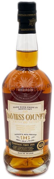 Daviess County Limited Edition Kentucky Straight Bourbon Whiskey Finished in French Oak Casks