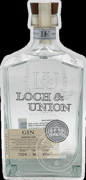 Loch & Union Distilling Barley Gin 750ml
