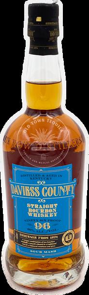Daviess County Straight Bourbon Whiskey 750ml