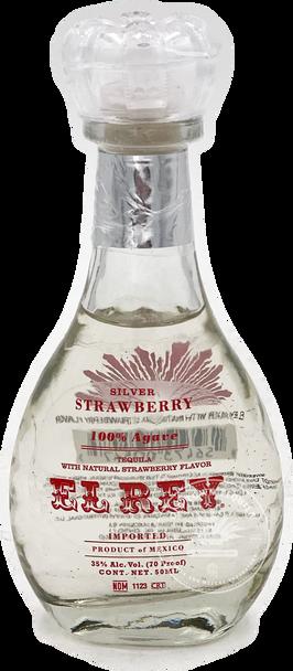 El Rey Silver Strawberry Tequila 50ml