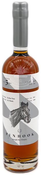 Pinhook Tiz Rye Time Vertical Series Aged 5 Years Straight Rye Whiskey
