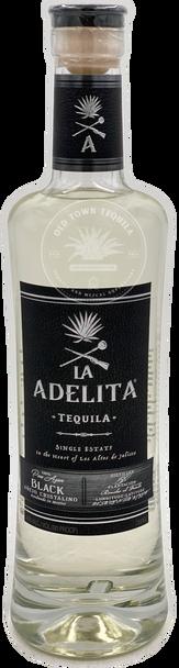 La Adelita Tequila Black Añejo Cristalino 750ml