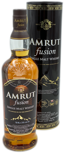 Amrut Fusion Single Malt Whisky 750ml