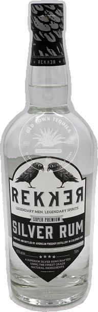 Rekker Super Premium Silver Rum 750ml