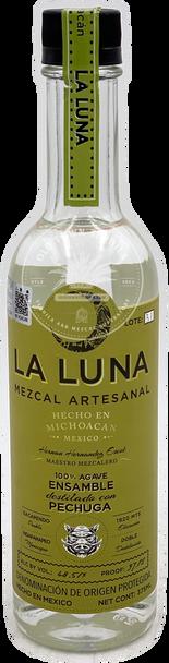 La Luna Ensamble Bruto + Chino destilado con Pechuga Mezcal 375ml