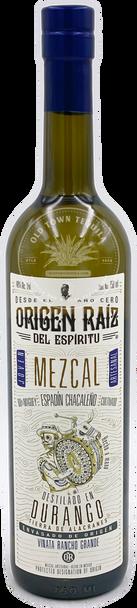 Origen Raiz del Espiritu Mezcal Espadin Chacaleño 750ml