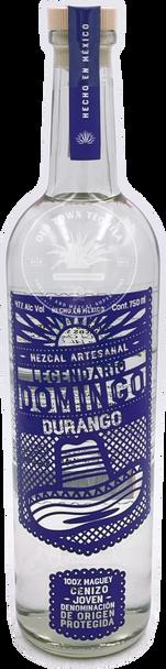 Legendario Domingo Durango Mezcal Artesanal Cenizo 750ml