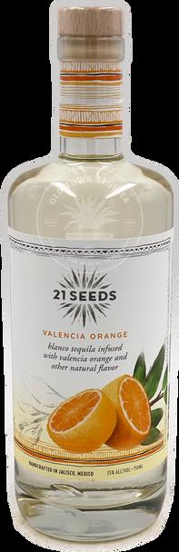 21 Seeds Valencia Orange Infused Tequila 750ml