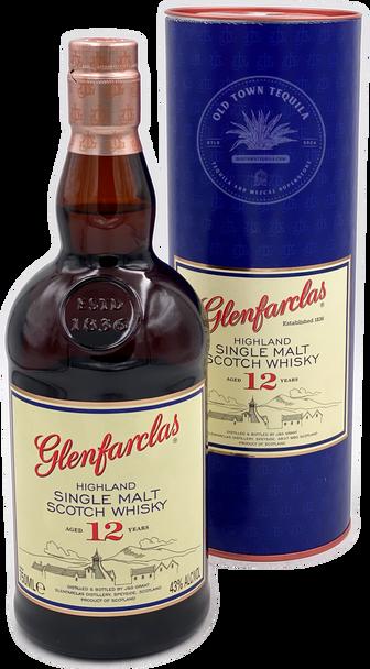 Glenfarclas Highland Single Malt Scotch Whisky Aged 12 Years 750ml
