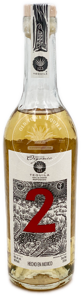 123 Organic Reposado Tequila Dos 375ml