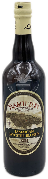 Hamilton Jamaican Pot Still Blonde Rum 750ml