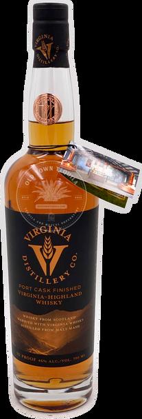 Virginia Distillery Co. Port Cask Finished Virginia-Highland Whisky 750ml