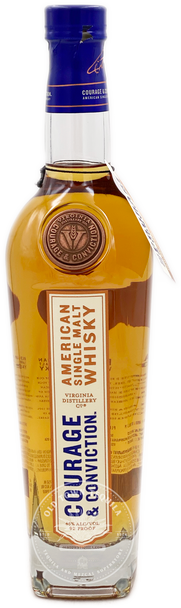Courage and Conviction American Single Malt Whisky 750ml