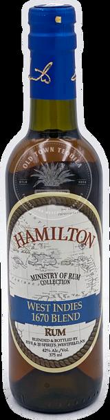 Hamilton West Indies 1670 Blend Rum 375ml