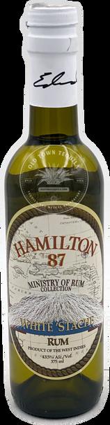 Hamilton 87 White 'Stache Rum 375ml
