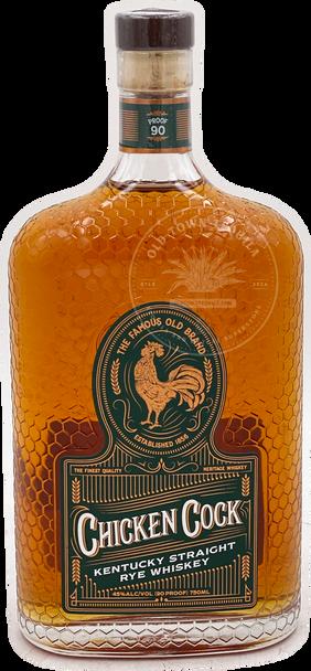 Chicken Cock Kentucky Straight Rye Whiskey 750ml