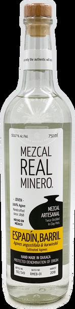 Real Minero Espadin Barril Mezcal Artesanal 750ml