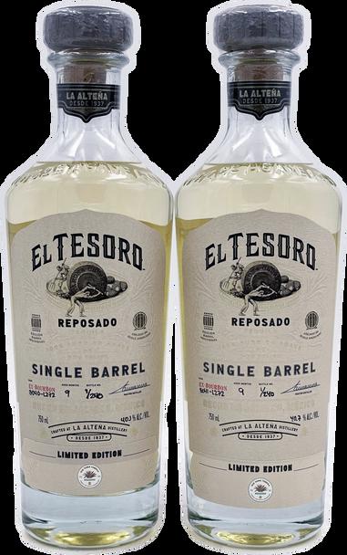El Tesoro x Old Town Tequila Reposado Single Barrels 40 & 41 Combo