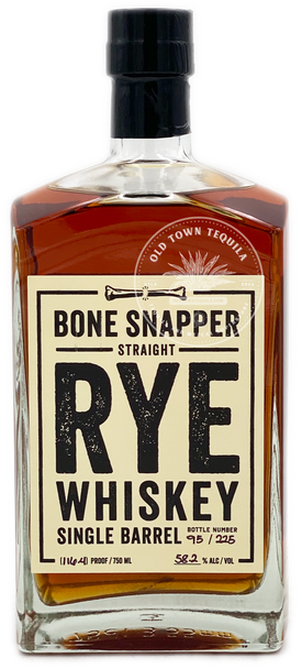 Bone Snapper Single Barrel Straight Rye Whiskey 750ml