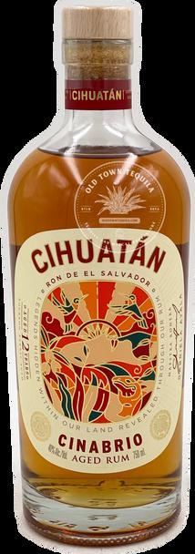Cihuatán Cinabrio Aged Rum 750ml