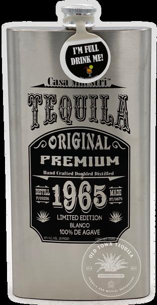 Casa Maestri Limited Edition Flask Tequila Blanco 750ml
