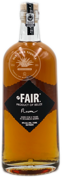 Fair Belize Rum 750ml