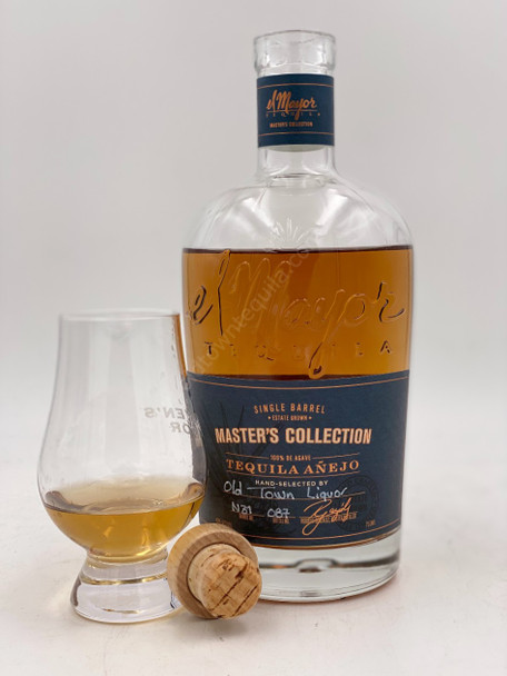 El Mayor Single Barrel (Old Town Tequila )Master's Collection Anejo Tequila