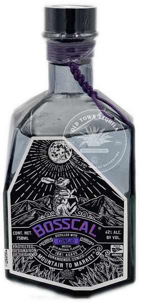 Bosscal Mezcal Distilled With Conejo 750ml