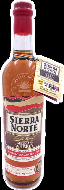 Sierra Norte Red Corn Mexican Whiskey 750ml
