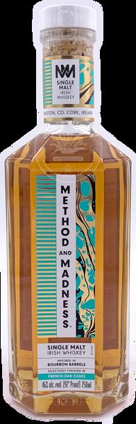 Method and Madness Single Malt Irish Whiskey 750ml