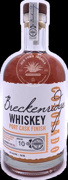 Breckenridge Port Cask Finish Whiskey NO.10  750ml